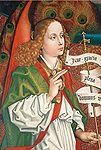Schongauer, Martin - Engel der Verkündigung - 1472 (detail).jpg