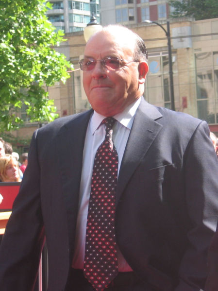 Scotty Bowman at the 2006 NHL Awards. Vancouver, BC, Canada, courtesy of the Wikipedia Commons