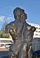 Sculpture by Hannes Turba 1988, Feldkellergasse 16 Vienna 03.jpg