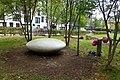 Sculpture in Mirabelle Gardens, Stratford.jpg