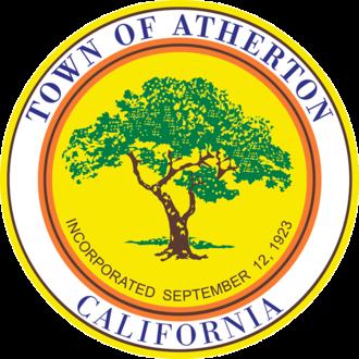 Atherton, California - Image: Seal of Atherton, California