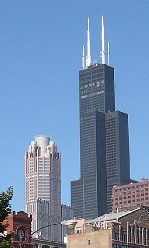311 South Wacker Drive - Image: Sears Tower and 311 South Wacker