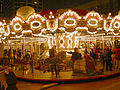 Seattle - Westlake Mall carousel at Xmas 02.jpg
