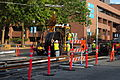 Seattle - laying trolley tracks on Broadway at Pine 10.jpg