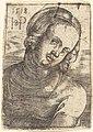 Sebald Beham, Bust of a Young Woman, 1518, NGA 4308.jpg