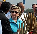 Secretary Clinton Visits Indian Agricultural Research Institute (3736837372).jpg