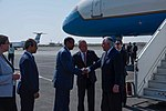 Secretary Tillerson is Greeted by Djiboutian Foreign Minister Youssouf (25836678027).jpg