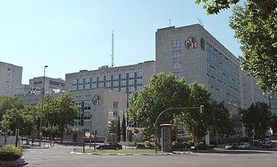Sociedad estatal de participaciones industriales for Oficinas de hacienda en madrid