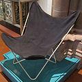 Sedia butterfly M198, design jorge ferrari-hardoy, antonio bonet e juan kurchan, 1938-40, realizzata 1959.JPG