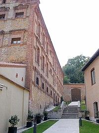 Segovia - Monasterio de Santa Cruz la Real-IE Universidad, exterior 03.jpg