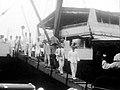 Seiei Matsui & Co of Osaka Boeki disembarks in the Philippines (1934).jpg