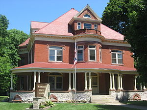 Ohio Department of Natural Resources - Image: Seip House in Chillicothe