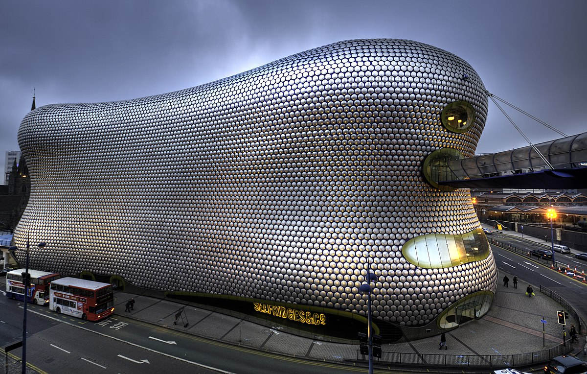 Selfridges Building Birmingham Wikipedia