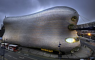 Selfridges Building, Birmingham - View from Park St car park