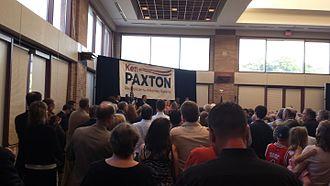 Ken Paxton - Paxton's 2013 campaign announcement