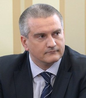 Prime Minister of Crimea - Image: Sergey Aksyonov March 2014 (cropped)