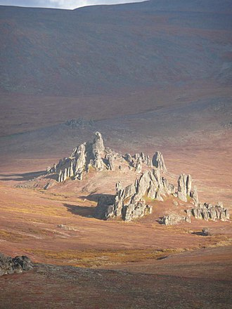 Bering Land Bridge National Preserve - Serpentine Tors
