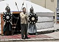 Service members from the Mongolian Expeditionary Task Force VII (METF VII) participate in this year's Naadam festival at Camp Eggers, Kabul, Afghanistan (130711-N-HU588-359).jpg