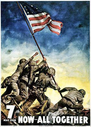 Ira Hayes - Seventh-War-Loan-Drive-Poster (May 11–July 4, 1945)