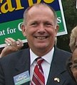 Sharpe supporters vote early (427478692) (cropped1).jpg