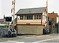 Shaw signalbox and level crossing 1988 - geograph.org.uk - 820077.jpg