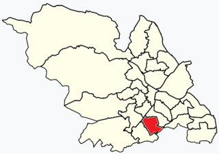 Graves Park (ward) Electoral ward in the City of Sheffield, South Yorkshire, England
