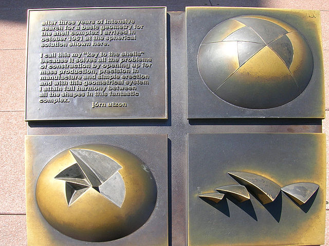 Key to the Shells, Jorn Utzon, 1961, Sydney Opera House