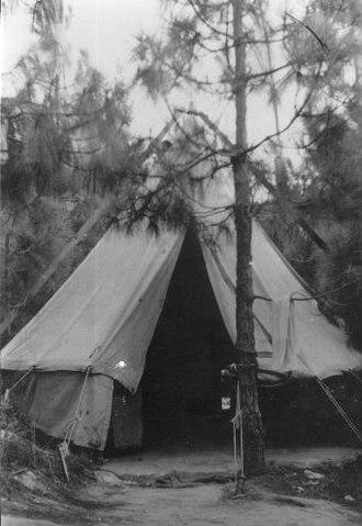 Shefayim - Palmach camp in Shfayim, 1944