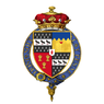 Shield of arms of Charles Cornwallis, 1st Marquess Cornwallis, KG, PC.png