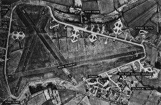RAF Shipdham airport in the United Kingdom