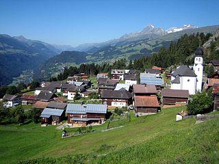 Siat Former municipality of Switzerland in Graubünden