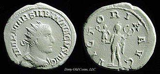 Silbannacus - Antoninianus of Silbannacus