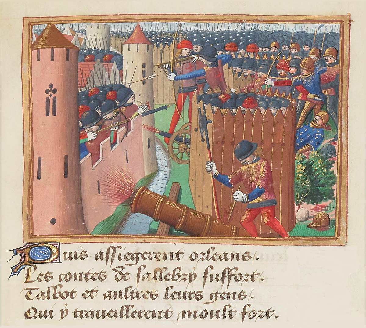 artillery of france in the middle ages wikipedia