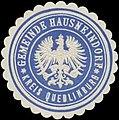 Siegelmarke Gemeinde Hausneindorf W0327985.jpg