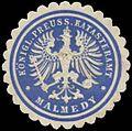 Siegelmarke K.Pr. Katasteramt Malmedy W0360872.jpg