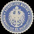 Siegelmarke K. Marine Kommando der VII. Halbflottille W0357590.jpg