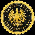 Siegelmarke Landes - Asyl - Jerichow (Elbe) W0217281.jpg