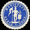 Siegelmarke Magistrat Gartz an der Oder W0204205.jpg