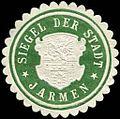 Siegelmarke Siegel der Stadt - Jarmen W0205283.jpg