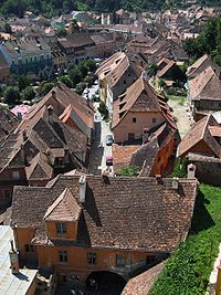 Sighişoara (Schäßburg, Segesvár) - view from CT1.jpg