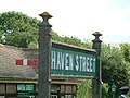 Sign at Havenstreet Station - geograph.org.uk - 8068.jpg