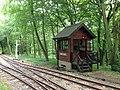 Signalbox, Stony Shaw Station, Bredgar and Wormshill Railway (geograph 5065525).jpg