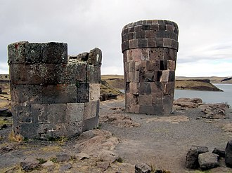 David Icke - Icke's turquoise period followed an experience by a burial site in Sillustani, Peru, in 1991.