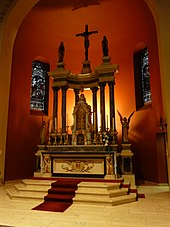 Altar In The Catholic Church Wikipedia