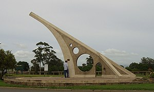 Singleton, New South Wales - One of the world's largest sundials, Singleton