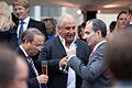 Sir Philip Green, Chairman, Arcadia Group (Centre);Chris Grigg, CEO, British Land (R) (5880517570).jpg