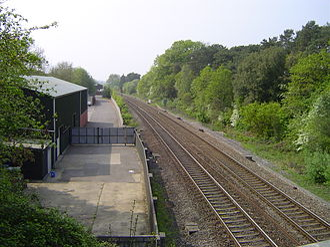 Coalpit Heath railway station - Site in 2011, part of Ram Hill Business Park