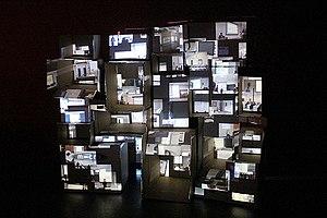 Marc Lee - Skin the skulpture, 2013, Organhaus, Chongqing, China