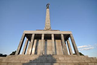 Slavín military cemetery in Bratislava, Slovakia