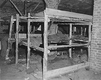 Neuengamme concentration camp - Sleeping quarters in the subcamp at Wöbbelin.